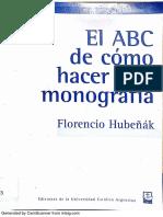 El ABC de cómo hacer una monografá - Florencio Hubeñák.pdf