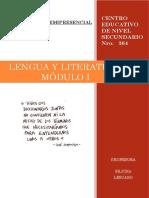 CENS 364 - Lengua y Literatura - Módulo I - LA COMUNICACIÓN docx.docx
