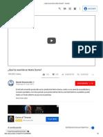 ¿Qué Ha Ocurrido en Notre Dame_ - YouTube