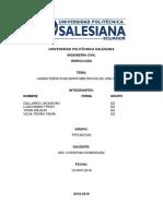Caracteriticas Morfometricas Cuenca