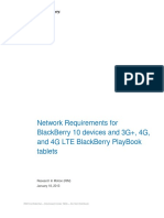 Network Requirements for BlackBerry 10 and 3G+ 4G and 4G LTE BlackBerry ...