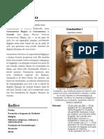 Constantino – Wikipédia, A Enciclopédia Livre