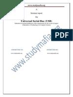 Universal Serial Bus USB Report