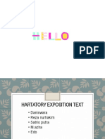 Hartatory Exposition Text