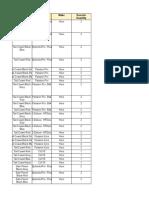 Hero - Fiber Parts Order List