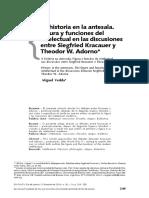 Miguel Vedda artículo