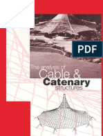 Analysis of Cables & Catenary Structures