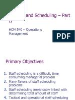 HCM540-StaffingAndScheduling-II