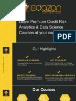 Credit risk analytics | Edazon