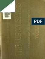 G.R.S. Mead - The Upanishads Vol I (1896)