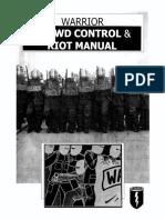 WARRIOR Crowd Control &RiotM,Anual