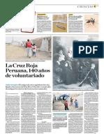 La Cruz Roja Peruana, 140 Años de Voluntariado