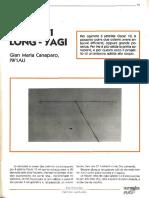 21elementi Long-Yagi Art IW1AU