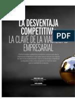 Artículo 2 - La Desventaja Competitiva