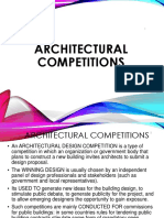 Architectural Competitions