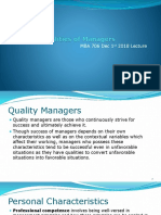 Qualities of Managers in West Africa