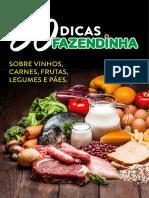 E-book 50 Dicas Fazendinha