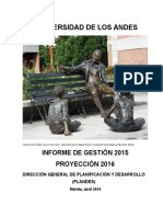 Informe de Gestion Ula 2015