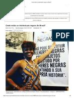 Onde Estão Os Intelectuais Negros Do Brasil