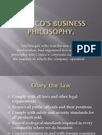 Costco's Business Philosophy,