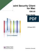CP E80.50 EPSMacClient UserGuide