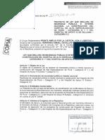 PL 4234 que declara de necesidad pública la construcción de los Hospitales de Piura y Sullana