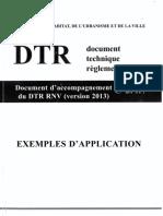 Exemples D'application