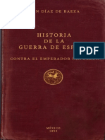 Diaz De Baeza Juan - Historia De La Guerra De España Contra El Emperador Napoleon.pdf