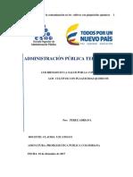 Contaminación en Los Cultivos Por Químicos.adriana