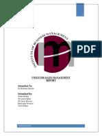 UNILEVER SALES MANAGEMENT REPORT.docx