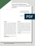 EL MODELO DE REGULACIÓN TARIFARIA PARA EL SERVICIO DE ELECTRICIDAD Y EL COSTO DE LA ENERGÍA.pdf