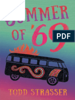Summer of '69 by Todd Strasser Chapter Sampler