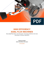 WP- High Efficiency Axial Flux Machines - Whitepaper v1.5