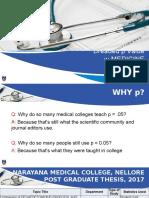 Dreaded p Value in Medicine New