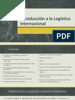 Introducción a La Logística Internacional