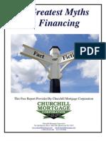 10 Myths Financing
