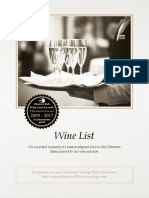 The Hussar Grill Wine List