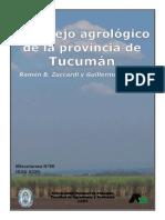 Bosquejo agrológico de la provincia de Tucumán