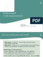 Build Yourself a Risk Assessment Tool