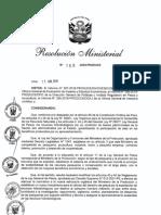 Tercera pre publicación que propone modificar los derechos de pesca