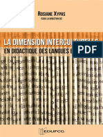 Xypas (org) - La dimension interculturelle
