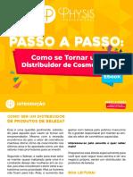 Physis eBook Passo a Passo Como Ser Um Distribuidor de Cosmeticos