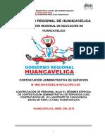 Bases Cas 006-2019 Ugel Huancavelica