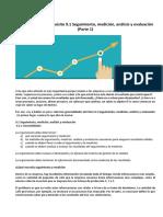 ISO 9001 Análisis de Datos