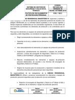 Sst-doc-022 Politica de Elementos de Proteccion Personal