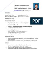 CV Electrical Engineer
