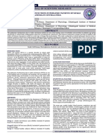 PROFILE OF PULMONARY FUNCTIONS IN PEDIATRIC PATIENTS OF SICKLE  CELLANEMIA IN CENTRAL INDIA