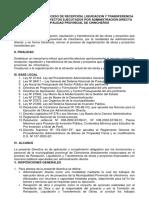 NORMAS PARA EL PROCESO DE LIQUIDACION.docx
