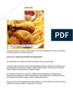 Como Poner Un Negocio de Pollo Frito - Guía de Negocio