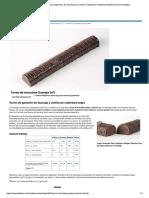 Turrón de Chocolate Guanaja 70%, De Joa...Heladería Profesional en Arte Heladero